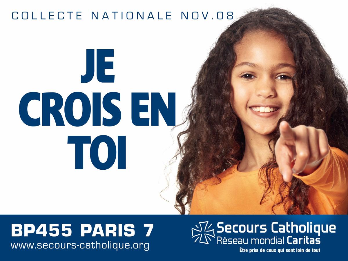 Secours Catholique - Paname Publicis